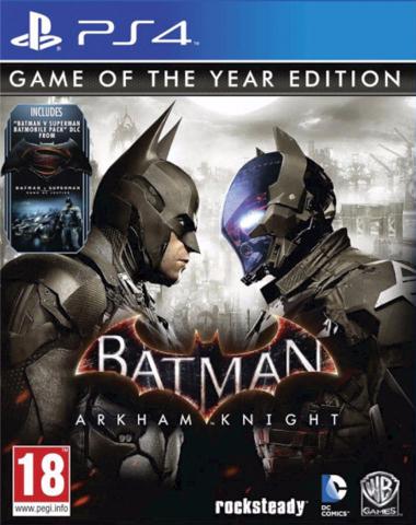 GAMES BATMAN ARKHAM KNIGHT